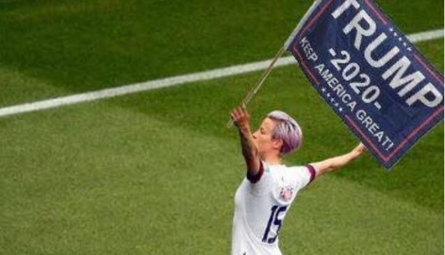 Megan Rapinoe will NOT like this photo…