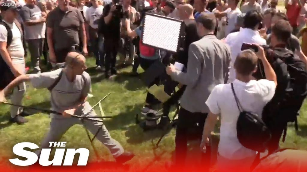 Tommy Robinson Reports To British Prison… CRAZY Scene Unfolds Outside Courthouse…