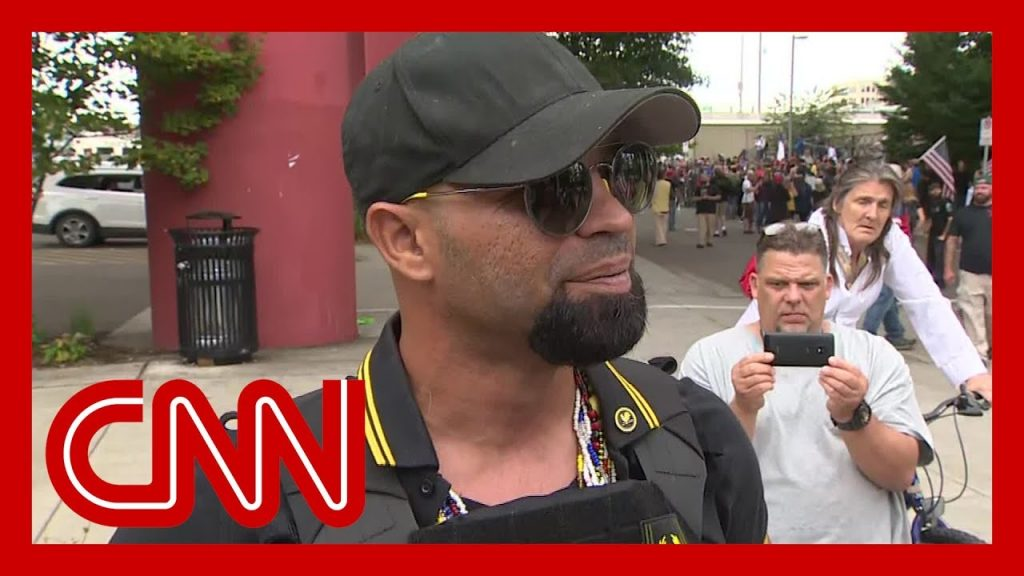 CNN Hack Repeatedly Crushed By Proud Boys…
