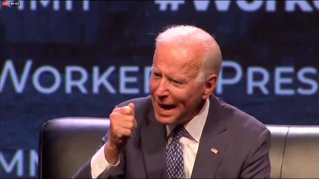 Joe Biden is not good at math…