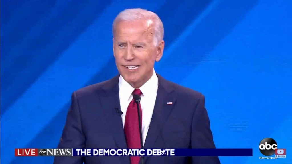Joe Biden almost spits out his dentures (video)…