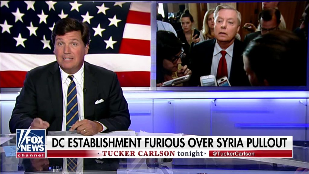 Tucker drops the hammer on Syria warmongers…