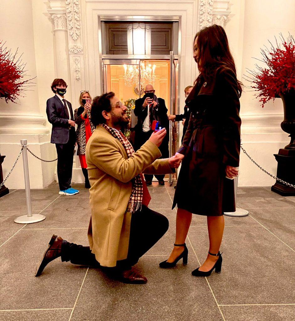 Raheem Kassam proposes, gets engaged at WH…