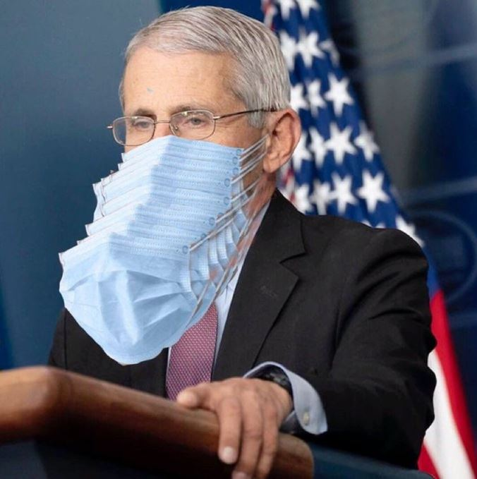Fauci Admits — Roughly half of NIH employees have chosen not to get vaccine…