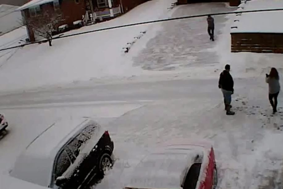 WARNING GRAPHIC — Man shoots and kills his neighbors after argument over shoveling snow…